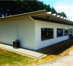 Construção de barracão para deposito de pneus, e reforma geral das instalações... - Lapônia