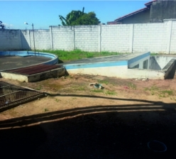 Construção de base de concreto para reservatório metálico de água com capacidade  para 500m³ - Jardim Tatiana